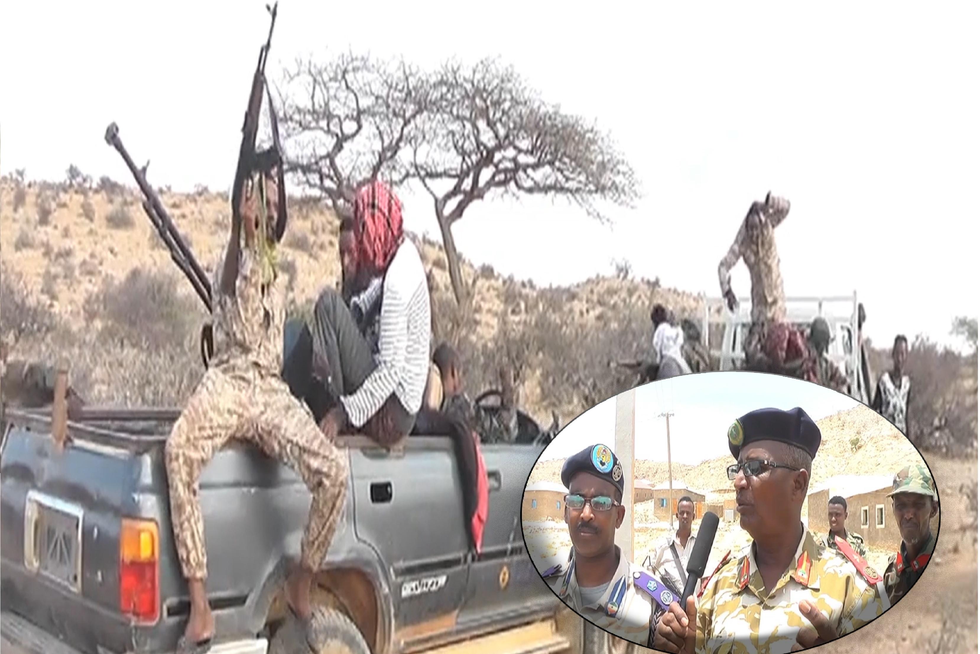Ciidamo Ka Soo Goostay Puntland Oo Somaliland Ku Biiray