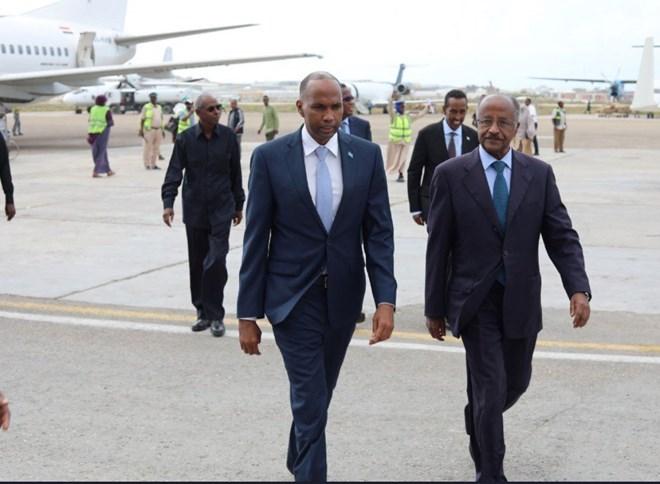 Wafti Ka Socda Dalka Eritea Oo Markii Ugu Horeysay Booqday Somaliya