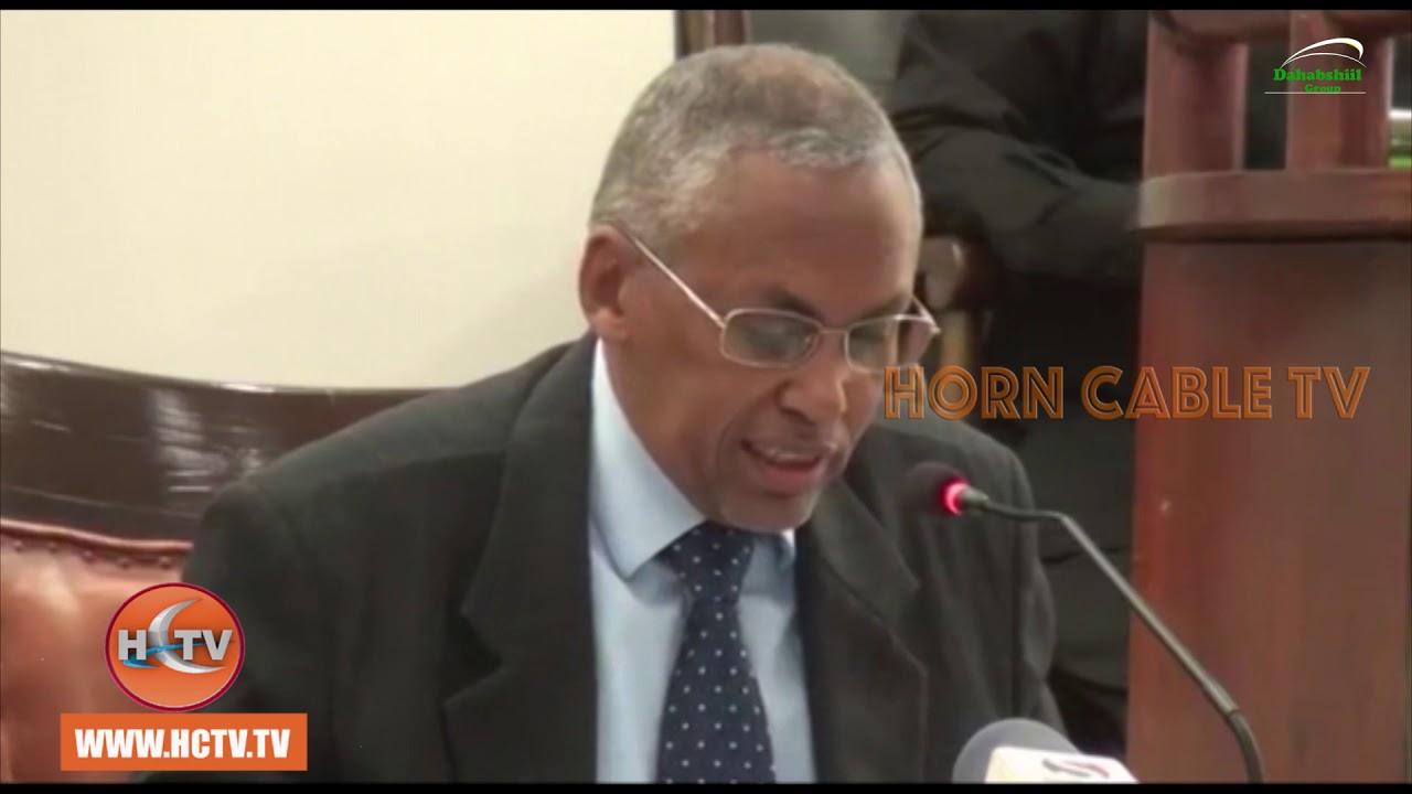 Wasiirka Maaliyada Somaliland ayaa  Maanta Golaha Wakiilada Somaliland Ka Horjeediyay Warbin Ku Saabsan Odoroska Miisaaniyad Sanadeedka Dawlada Ee 2019-ka