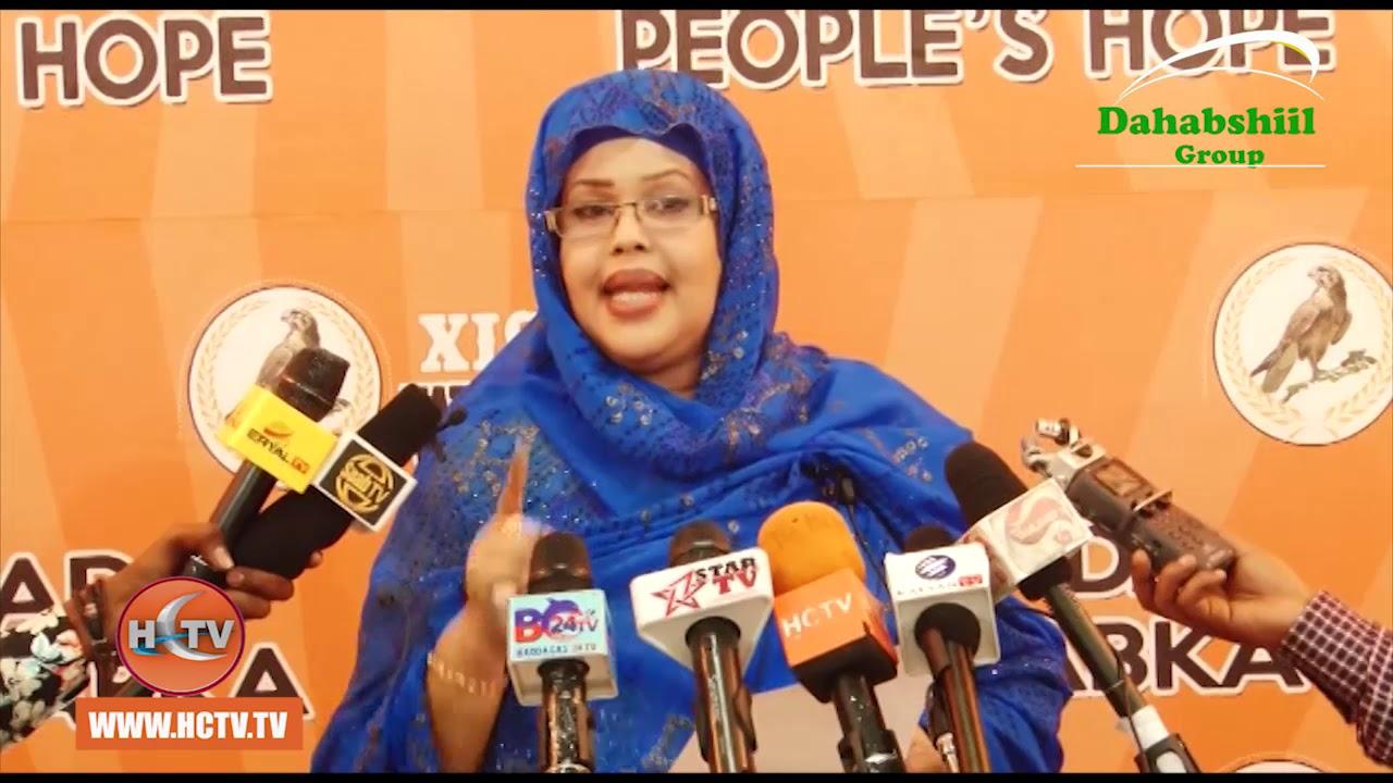 Xisbiga WADDANI  oo Dhaliilay Natiijada Safarkii Madaxwayne Biixi ee Addis Ababa