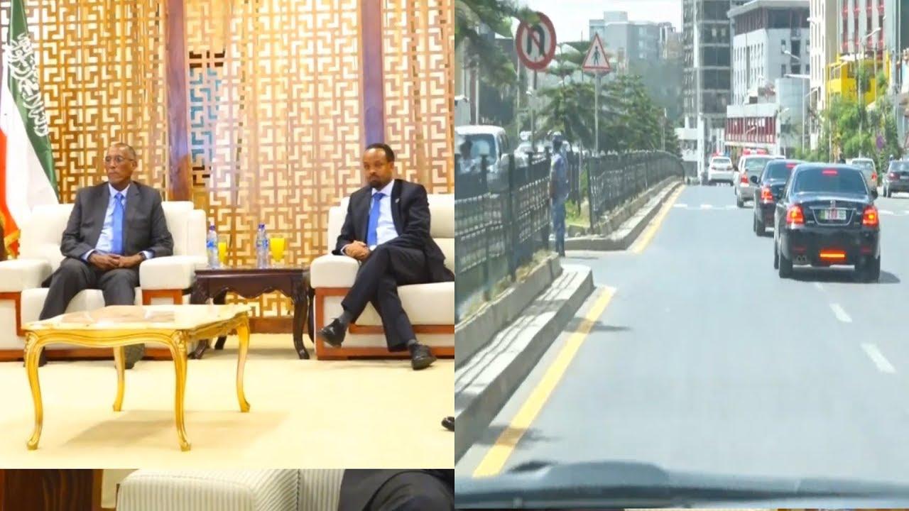 Daawo: Soo dhawaynta Madaxwaynaha Somaliland oo Gaadhay Addis Ababa