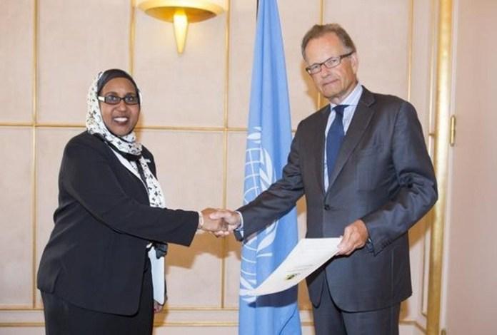 Somalia Oo U Yeedhay Safiirkeedii Geneva U Fadhiyey