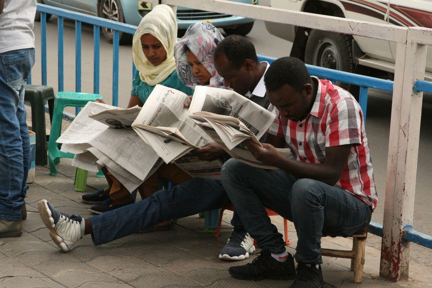 Ethiopia Oo Yeelatay Saxaafad Xor Ah