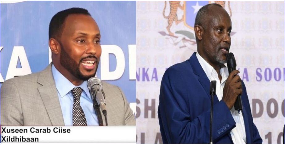 Gudoomiye Muudey Iyo Xil. Xuseen Carab Ciise Oo Isku Khilaafay Masiirka Somaliland