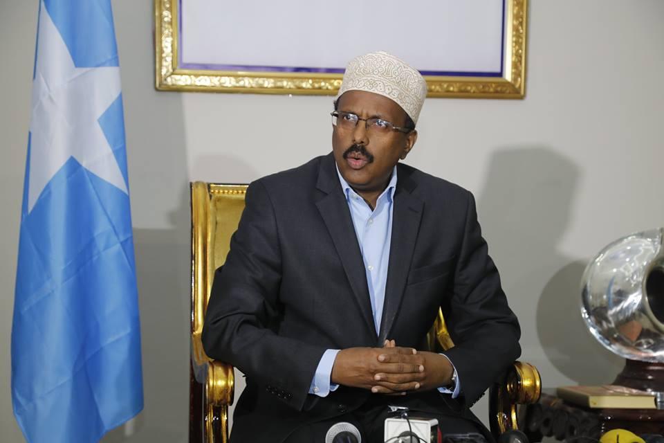 Madaxweynaha Somalia Oo Socdaal Ugu Ambabaxay Dalka Masar