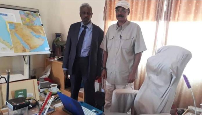 Madaxweynaha Eritrea Oo Qaabilay Wakiilka Somaliland Ee Qaramada Midoobay