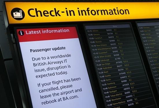 British Airways Oo Joojisay In Ka Badan 100 Duulimaad Markii Hanaanka Computer-radu Shaqayn Waayeen