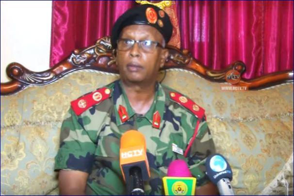 Taliyaha Ciidamada Somaliland Oo Caarre Ku Tilmaamay Dambiile Dad Ku Laayey Sanaag