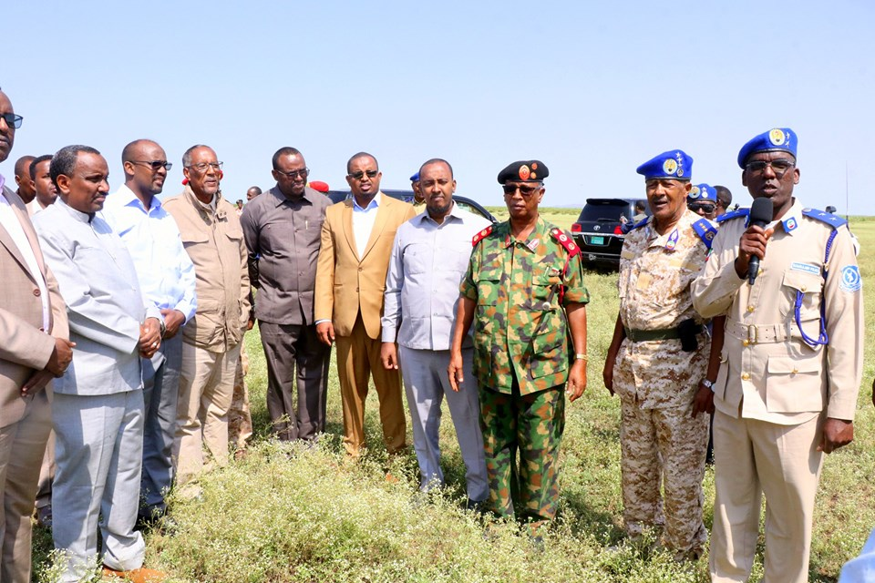 Madaxweynaha Somaliland Oo Kormeeray Mashaariicda Beeraha Banka Wajaale