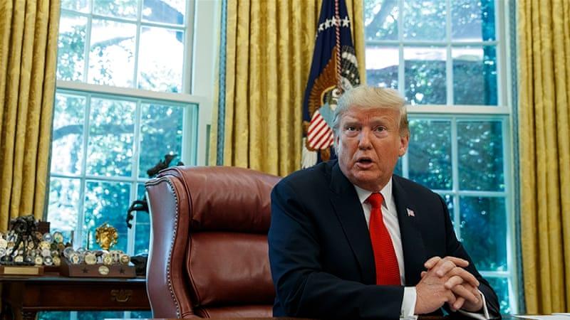 Trump Oo Joojiyey Wadahadaladii Nabada Ee Taliban