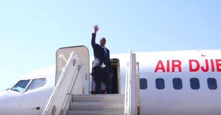 Madaxweynaha Somaliland Oo U Ambo-baxay Jabuuti