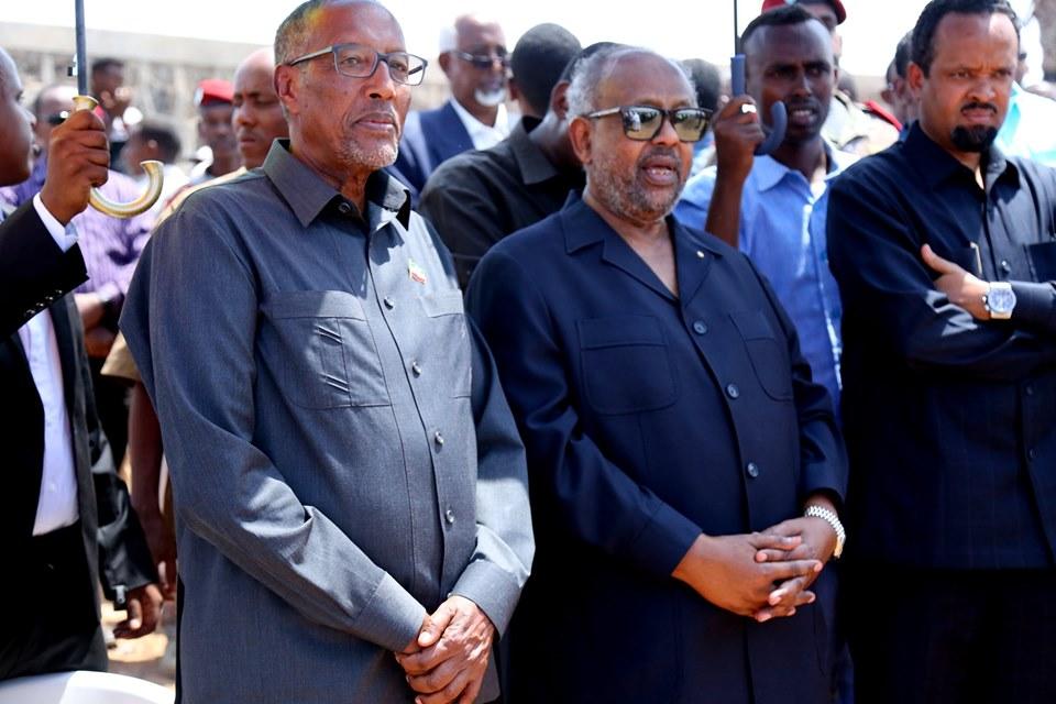 Madaxweynaha Somaliland Oo Dhigiisa Jabuuti Kala Qayb-galay Aas Loo Sameeyey Marxuum Sacad Cumar Geelle