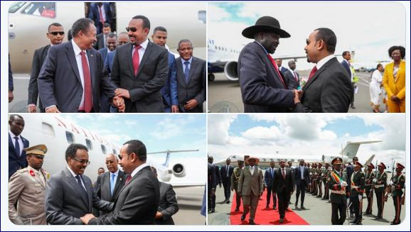 Hoggaamiyeyaasha Gobolka Oo  U Socdaalay Dalka Ethiopia