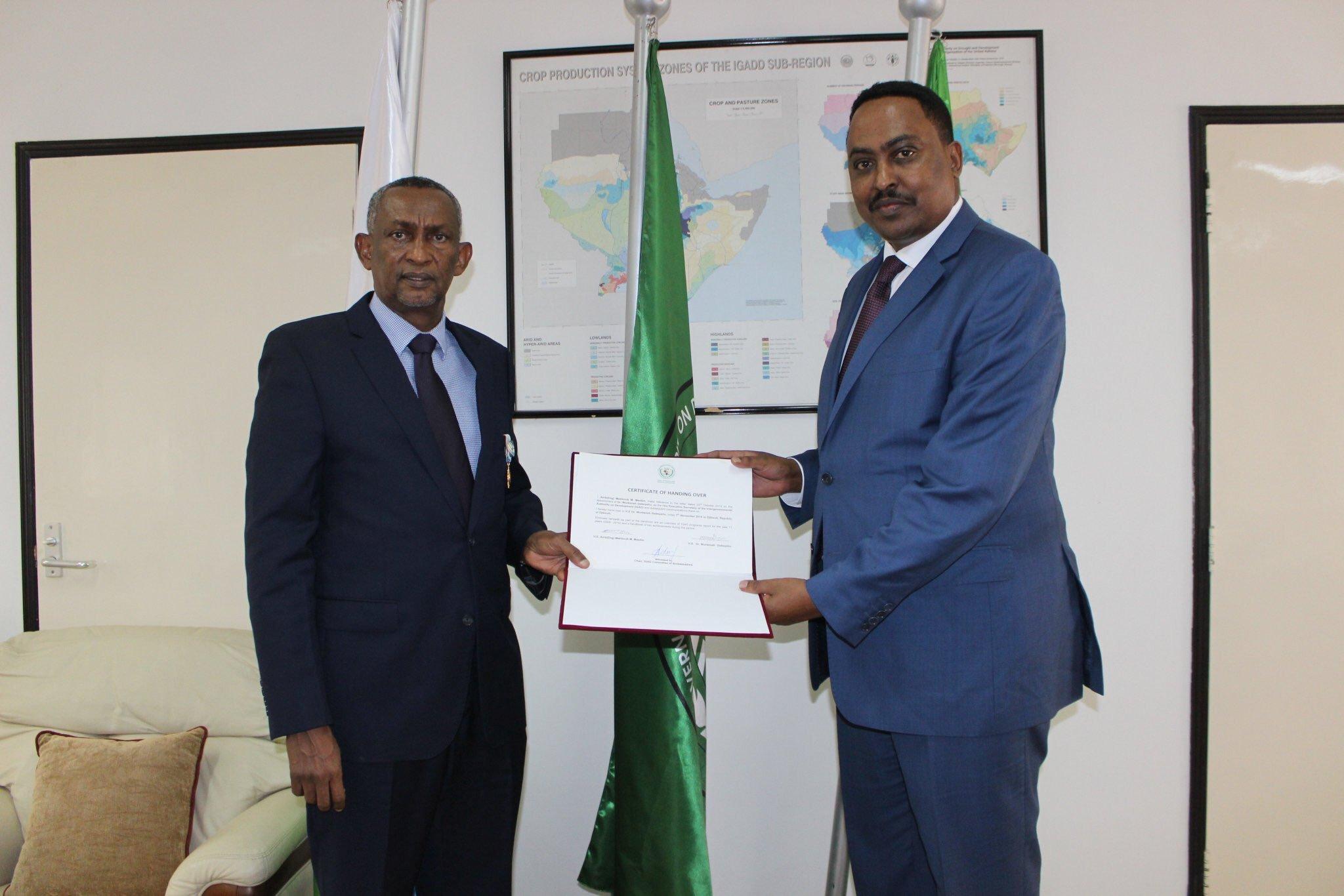 Wasiirkii Hore Ee Arimaha Dibada Ethiopia Oo Noqday Xoghayaha Urur Goboleedka IGAD