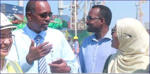 Wefti Ka Socday Maamulka Oromada Ethiopia Oo Booqday Dekeda Berbera