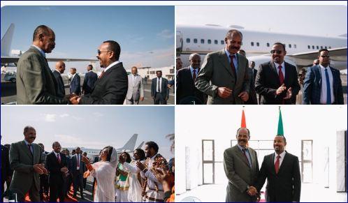 Madaxweynaha Eritrea Oo Si Diiran Loogu Soo Dhaweeyey Addis Ababa