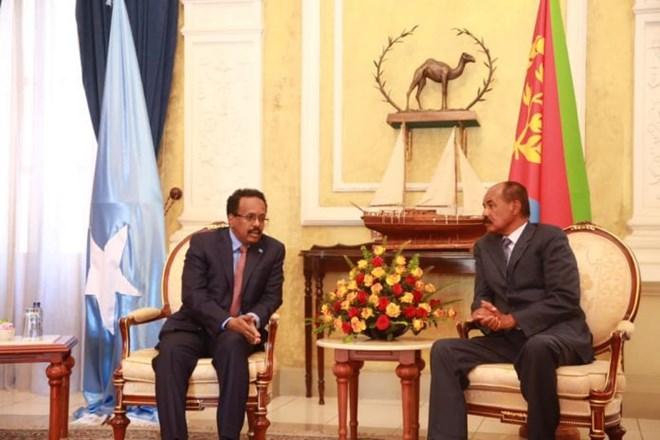 Madaxtooyada Somalia Oo War Ka Soo Saartay Kulan Dhaxmaray Madaxweyne Farmaajo Iyo Dhiggiisa Eritrea