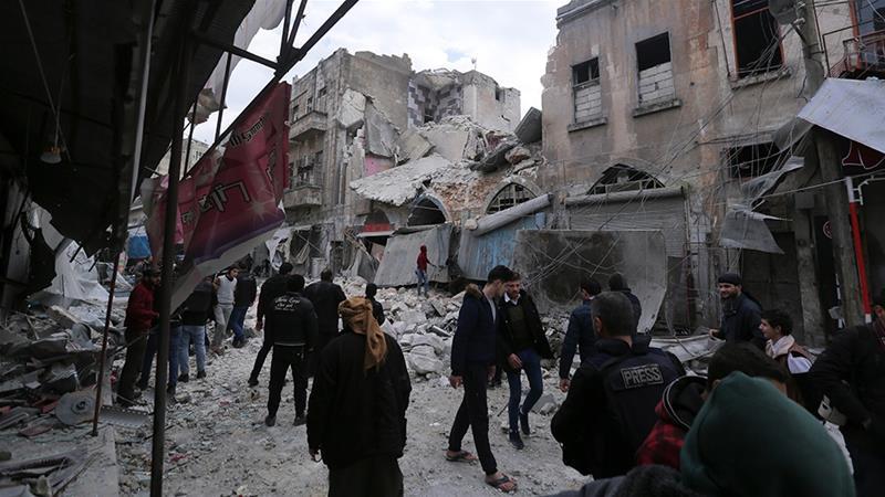 Suuriya: Tiro Ka Badan 20 Qof Oo Lagu Dilay Weerar Lagu Qaaday Gobolka Idlib