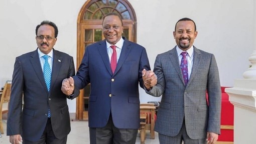 Ujeedada Wefti Madaxweynaha Kenya U Diray Ethiopia