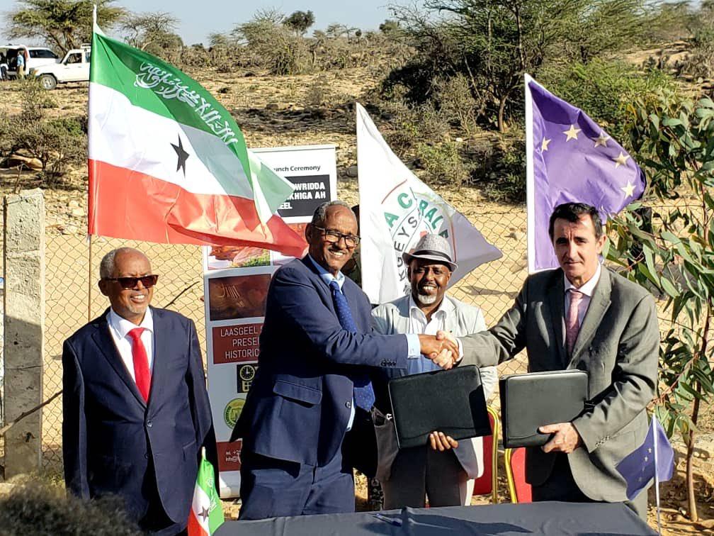 Xukuumada Somaliland Iyo Midawga Yurub Oo Kala Saxeexday Mashruuc Lagu Horumarinayo Laasgeel