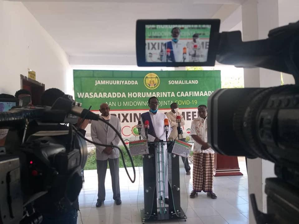 Wasiirka Caafimaadka Somaliland Oo Xaqiijiyey In Qofkii Ugu Horeeyey U Geeriyooday Covid19