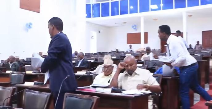 Madaxweynaha Somaliland Oo Saddex Xeer U Gudbiyey Golaha Wakiilada