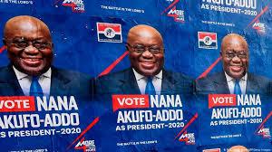 Ghana: Madaxweyne Nana Akufo-Addo Oo Mar Kale Dib Loo Doortay