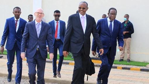 Ergayga Qaramada Midoobay ee Somalia Oo Gaadhay Magaalada Baydhabo