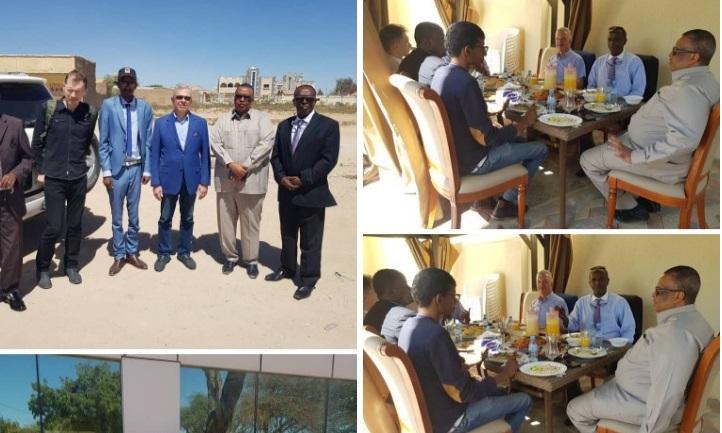 Wefti Ka Socd Ruushka Oo Booqasho Ku Yimid Somaliland