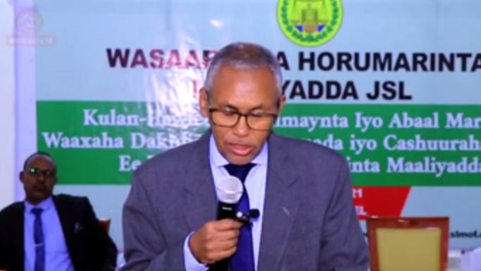 Wasiirka Maaliyada Somaliland Oo Soo Gabagabeeyey Kulan Lagu Qiimaynayey Waaxyaha Dakhliga