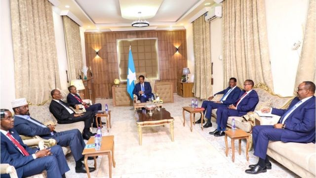 Shirkii Wadatashiga Maamul Goboleedyada Iyo Dawladda Federalka Somalia Uga Socday Dhuusamareeb Oo Natiijo La'aan Kusoo Dhamaaday