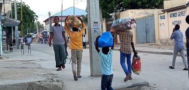 UN says fighting displaces up to 100,000 people in Mogadishu