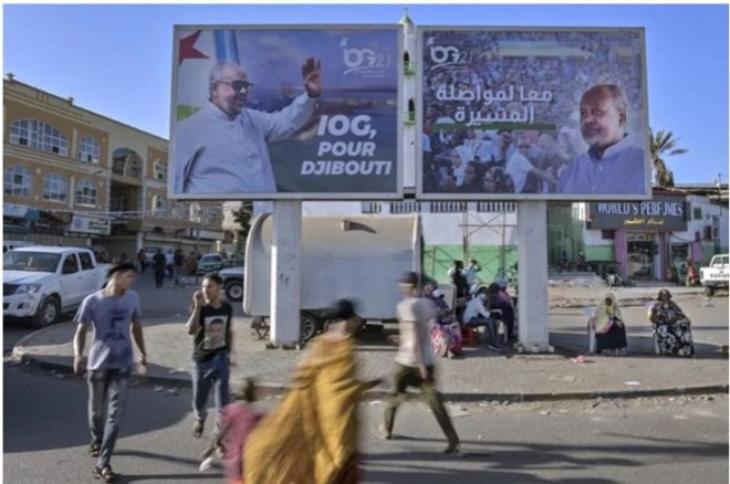 Voting underway in Djibouti with president seen winning fifth term