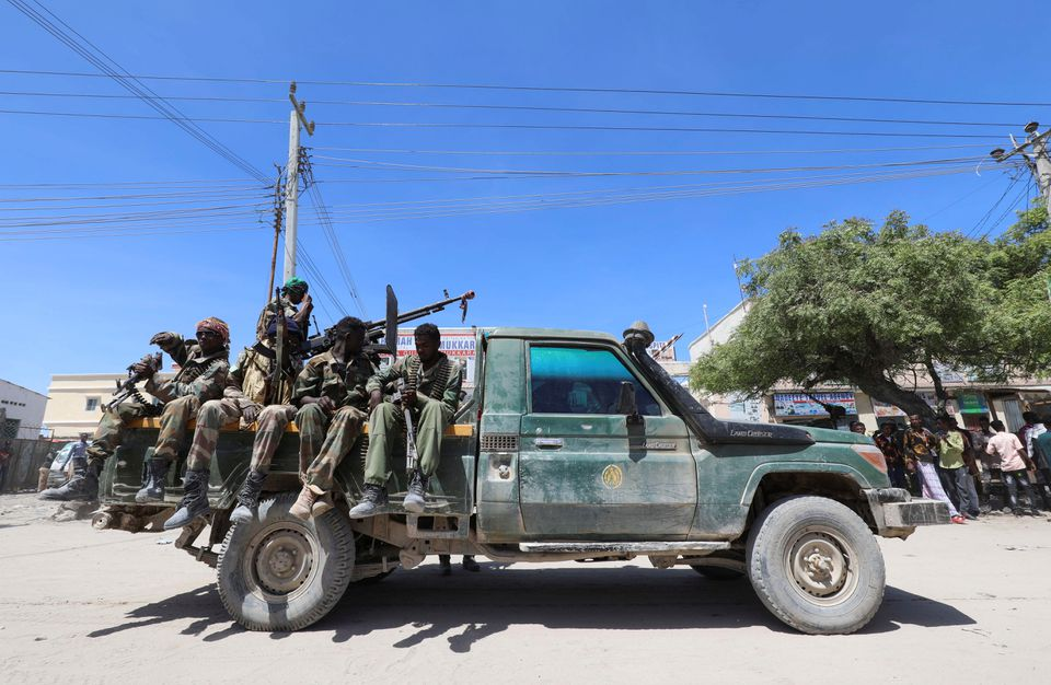 Somali ex-leader says soldiers attacked his home, blames president