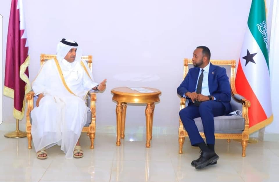 Wefti Ka Socda Dawladda Qatar Oo Somaliland Soo Gaadhay