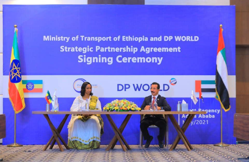 Shirkadda DP World Iyo Dawlada Ethiopia Oo Heshiis Lagu Horumarinayo Jidka Berbera Corridor Kala Saxeexday
