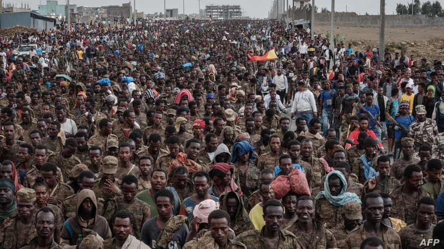 Ethiopia's Tigray forces say they released 1,000 captured soldiers