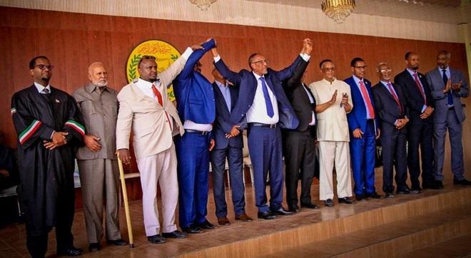 Madaxweyne Muuse Biixi Cabdi Oo Qaabilay Xubanaha Loo Doortay Shirguddoonka Golaha Wakiilada Somaliland