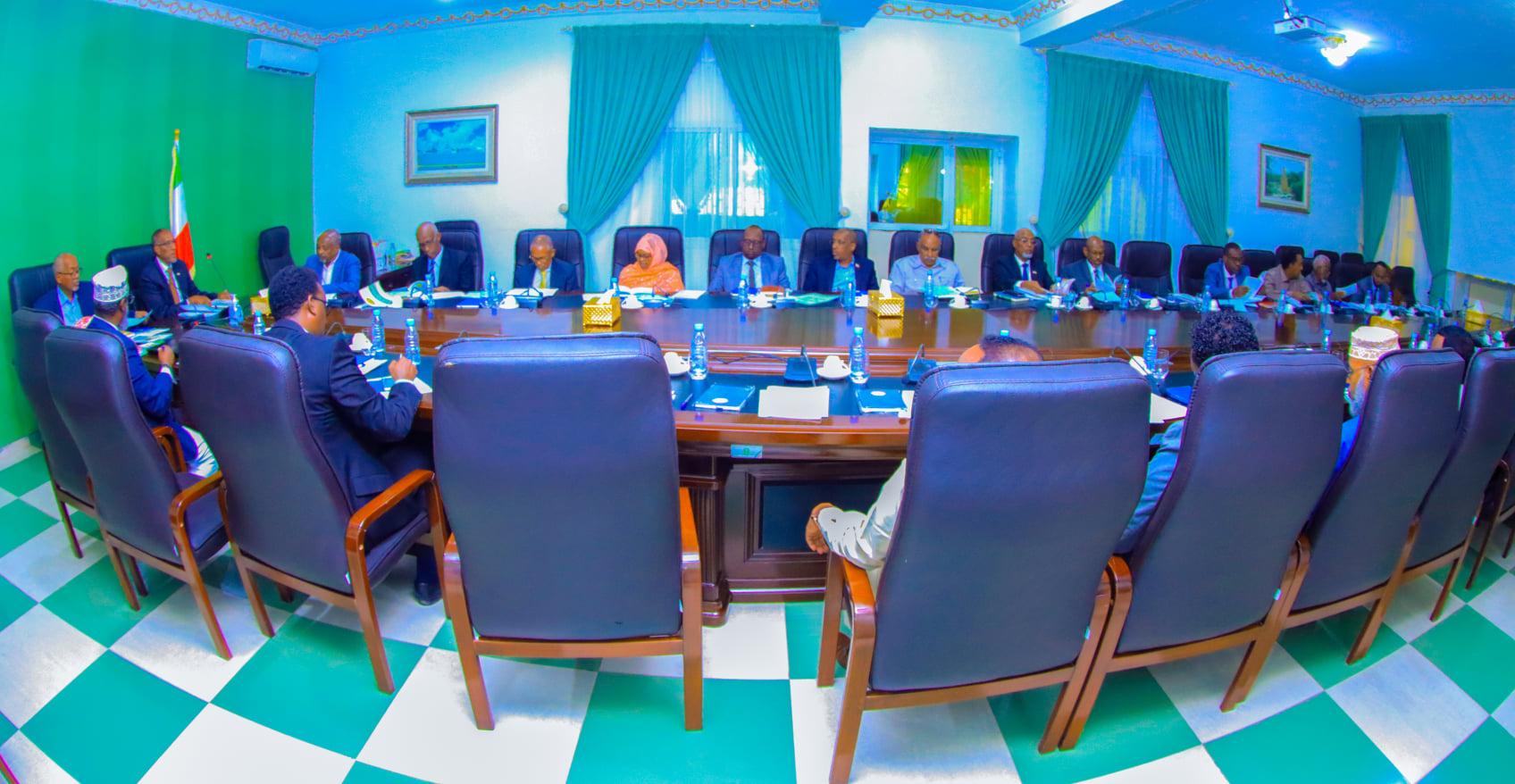 Fadhigii Golaha Wasiirrada Somaliland Ee Maanta Oo Lagaga Dooday Odoroska Miisaaniyadaha 2022 Ilaa 2024